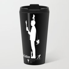 One Sixth Ism (White Statue) Travel Mug