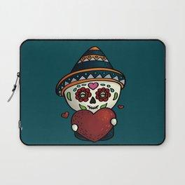 Cheerful calavera Laptop Sleeve