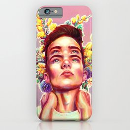 Four Eyes Floral iPhone Case