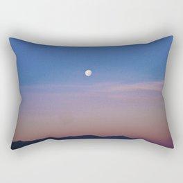 Beautiful Moon, fabulous sky. Rectangular Pillow