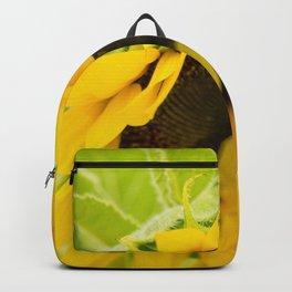 Summer Sunflower (Macro Photography) Backpack
