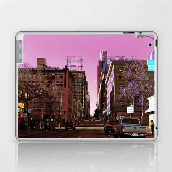 Light Falls in Strange Ways Laptop & iPad Skin