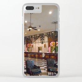 """""""Welcome To Riu Vallarta"""" Clear iPhone Case"""