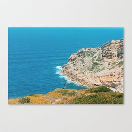 Seized by the instant Canvas Print
