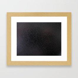 moon texture - Sec.6v.12.875 Framed Art Print