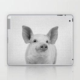 Pig - Black & White Laptop & iPad Skin
