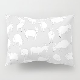 Charity fundraiser - Grey Goats Pillow Sham