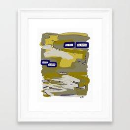 My Dear Framed Art Print