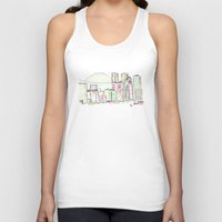tokyo Tank Tops featuring Tokyo by Ursula Rodgers