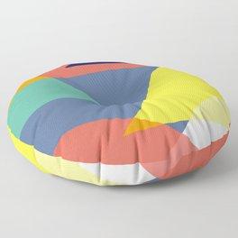 Color mountains Floor Pillow