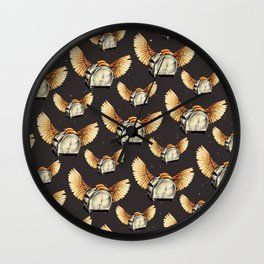 Flying Toasters Wall Clock