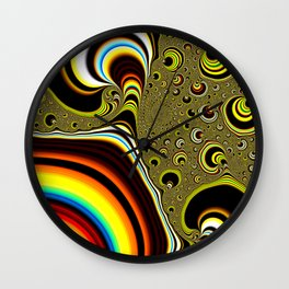 Strangeness in the Universe Wall Clock