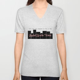 Greatest City in the World (Hamilton Series) Unisex V-Neck