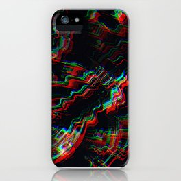 TRIPPY COLORFUL WATER RIPPLES iPhone Case