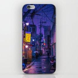 Purple Alleys of Korea iPhone Skin