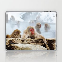 The Japanese macaque also known as the snow monkey Laptop & iPad Skin