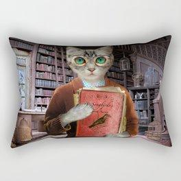 Dr. Felis Catus Rectangular Pillow