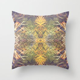 Tropical Kaleidoscope  Throw Pillow