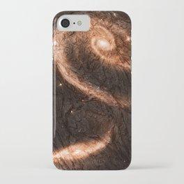 Dark Wood Energy iPhone Case