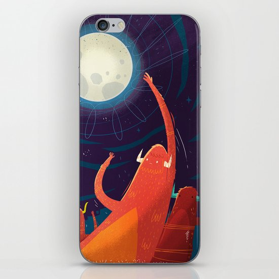 :::Touch the Moon::: iPhone & iPod Skin