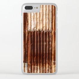 Rusty Clear iPhone Case