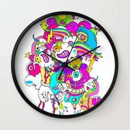 #LEVELUP Wall Clock