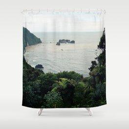 New Zealand Coast Shower Curtain