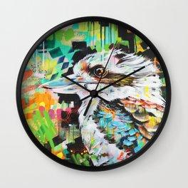 Serious Business [Kookaburra] Wall Clock