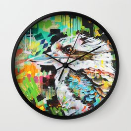 Serious Business [Kookaburra] Wall Clock