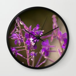 Concept flora : Lythracaee Wall Clock