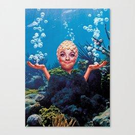 The ocean floor Canvas Print