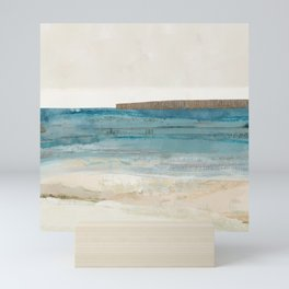 Blue Coastal Scene I Mini Art Print