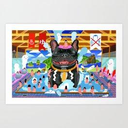 Super Sento Art Print