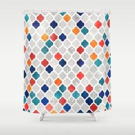 Sea & Spice Moroccan Pattern Shower Curtain