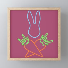 The carrot war #5 Framed Mini Art Print