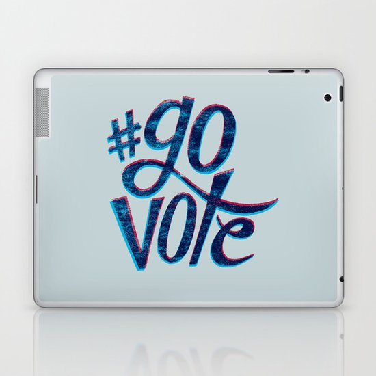 #GoVote Laptop & iPad Skin
