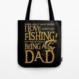 I Love Fishing - Fisherman Men Gift for Dad Tote Bag