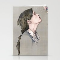 pixies Stationery Cards featuring The Pixies by Talia Gavish