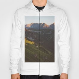 Sunset valley - Landscape and Nature Photography Hoody