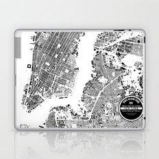 New York Map Laptop & iPad Skin