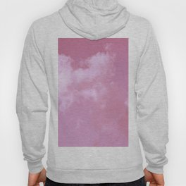 Floating cotton candy with pink Hoody