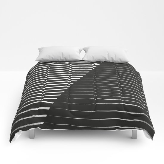 Black vs. White Comforters