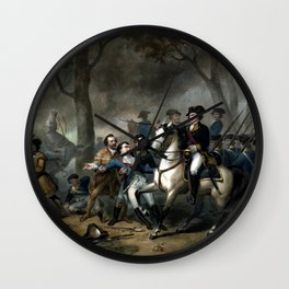 Life Of George Washington -- The Soldier Wall Clock