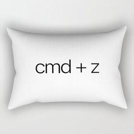 cmd + z Rectangular Pillow