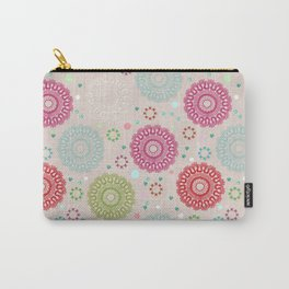 Lace&Rosaces Carry-All Pouch