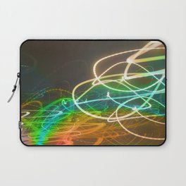 Rainbow Light Graffiti Laptop Sleeve