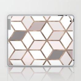 Golden Cubes I Laptop & iPad Skin