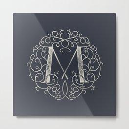 """M""ONOGRAM Metal Print"
