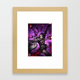 reaper over Framed Art Print