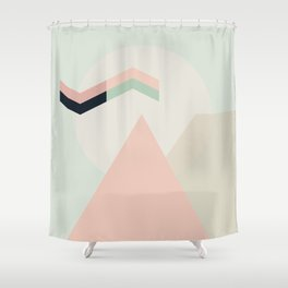I Dream In Pink Shower Curtain